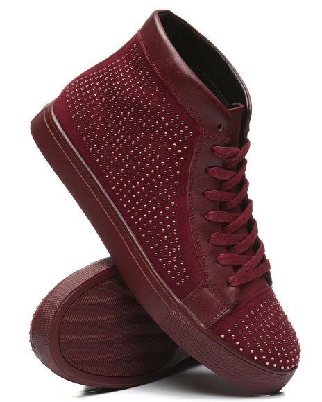 Buyers Picks - High Top Studded Sneakers