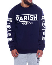Pullover Sweatshirts - Fleece Crewneck Pullover  (B&T)-2339217