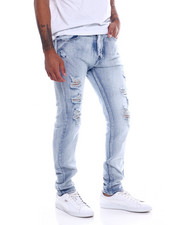 Spring-Summer-M - Vintage Blown Out Knee Stretch Jean-2335965