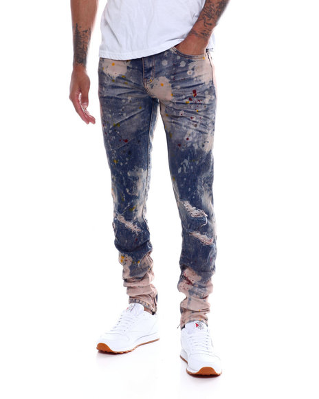 Crysp - Pacific Paint Splater Jean