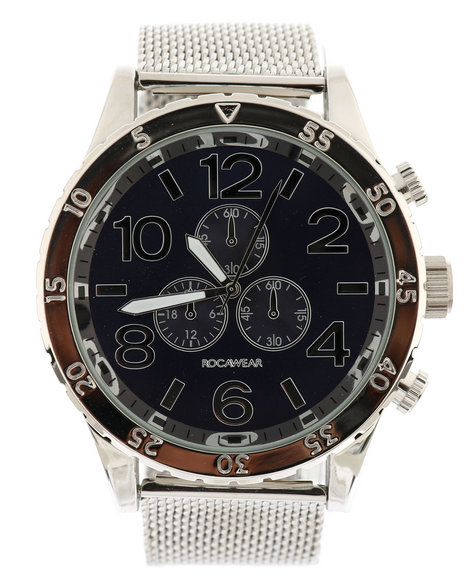 Rocawear - Silver Metal Watch