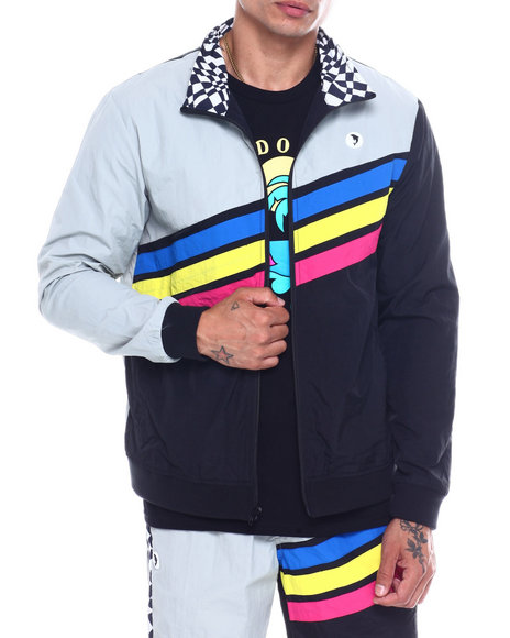 Pink Dolphin - DOLPHIN MOTORSPORTS TRACK JACKET