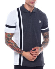 Men - Stripe Panel Polo-2341300