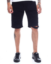 Men - STRETCH TWILL DISTRESSED SHORT-2341338