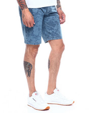 Men - FLORAL DENIM SHORT-2340911