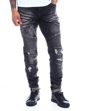 Men - Skywalker Acid Wash Moto Jean-2341074