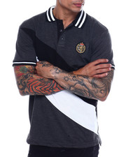 Men - Lion Crest Stripe Polo-2341326