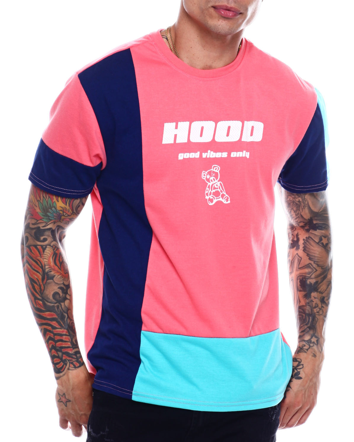 a2a5860c84db Buy hood Good Vibes Only Tee Men's Shirts from Buyers Picks. Find ...