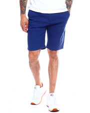 Men - Solid Woven Shorts-2340950