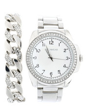 Accessories - Watch & Chain Bracelet Set-2335998