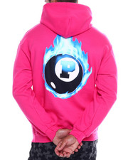Pink Dolphin - 8 BALL FLAME HOODIE-2341484