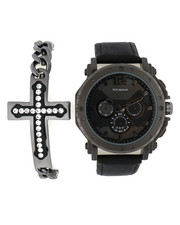 Accessories - Watch & Cross Chain Bracelet Set-2336001