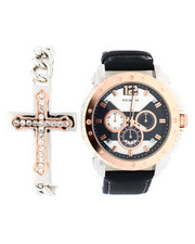 Accessories - Watch & Cross Chain Bracelet Set-2336000