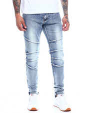 Jeans - Montana Light Wash Moto Jean-2341020
