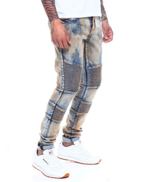 Crysp - Bron Bleached Articulated Jean