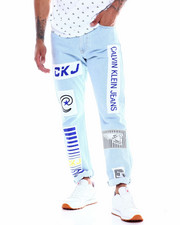 Calvin Klein - BMX PATCH LIGHT STONE JEAN-2341935