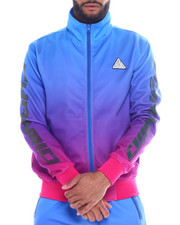 Men - IRIDESCENT DIP DYE TRACK JACKET-2341898
