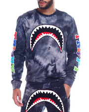 Sweatshirts & Sweaters - TRIPPY SHARK CREWNECK SWEATSHIRT-2341699