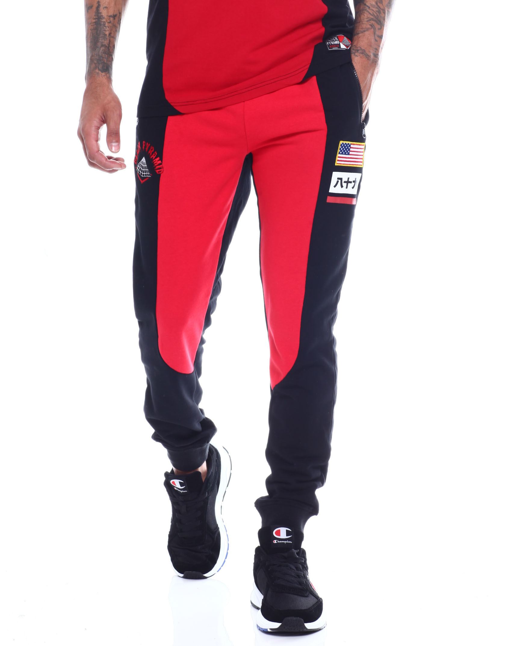 From Drip Pants Black Jogger Men's Logo Buy Pyramid Og Jeansamp; CrthdsQx