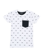 Tops - Crew Neck Printed T-Shirt (8-20)-2338371