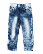 Akademiks - Piping Jeans (2T-4T)-2340088