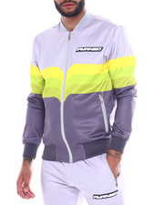 Black Pyramid - GRADIENT STRIPE TRACK JACKET-2341888