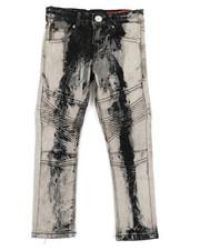 Arcade Styles - Stretch Moto Basic Jeans (4-7)-2340019