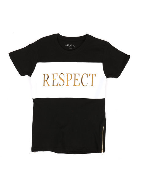 Arcade Styles - Respect Crew Neck Tee (8-20)