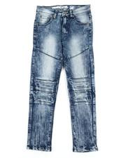 Mecca - Cut Knee Moto Denim Jeans (8-20)-2340081