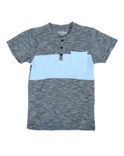 Henleys - Fancy Henley Tee W/ Pocket (8-20)-2338384
