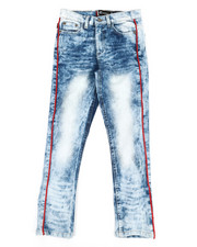 Bottoms - Piping Jeans (8-18)-2340092