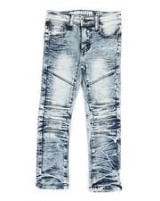 Mecca - Cut Knee Moto Denim Jeans (4-7)-2340069
