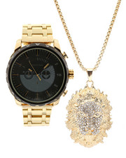 Accessories - Watch & Lion Necklace Set-2336040