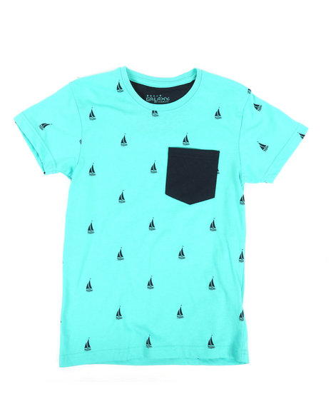 Arcade Styles - Crew Neck Printed T-Shirt (8-20)