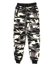 Bottoms - Fleece Camo Jogger Pants (8-20)-2336788