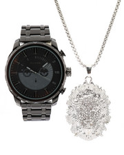 Accessories - Watch & Lion Necklace Set-2336034