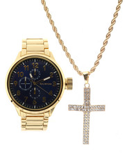Accessories - Watch & Cross Necklace Set-2336021