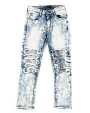 Bottoms - Stretch Moto Jeans (8-20)-2340157