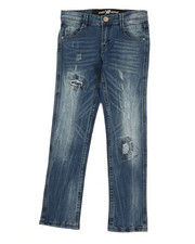 Bottoms - Rip & Repair W/ Stretch Jeans (8-20)-2340186