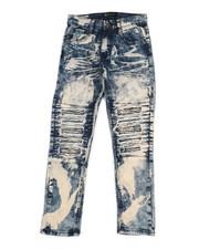 Bottoms - Stretch Moto Jeans (8-20)-2340164