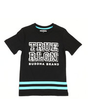 Sizes 8-20 - Big Kids - Block Letter Tee (8-20)-2340826