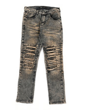 Bottoms - Stretch Moto Jeans (8-20)-2340171