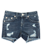 True Religion - S.E Distressed Denim Shorts (7-16)-2341568