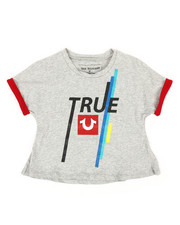 True Religion - Rolled Tee (4-6X)-2340891