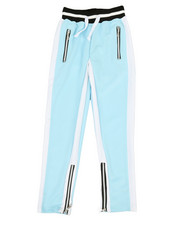 Sizes 8-20 - Big Kids - Poly Color Block Track Pants (8-20)-2341747