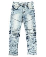 Mecca - Cut Knee Moto Denim Jeans (8-20)-2341811
