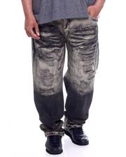 Jeans & Pants - Waterproof Zippers Destructed Jeans (B&T)-2340362