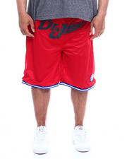 Julius Erving (DR. J) - Dr. J Mesh/Poly Knit Mens Short (B&T)-2342696