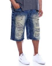 Buyers Picks - Zip Trim Ripped Denim Shorts (B&T)-2340347