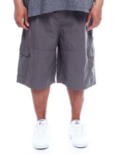 Akademiks - Safari Twill Cargo Short  With Knit Waist (B&T)-2342662